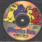 DinoSoft: Phonics Fun (Ages 4-8) CD-ROM Windows - NEW in SLV