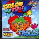 Color Me Fun! TROLLS (Ages 2-8) CD-ROM Windows - NEW in SLEEVE