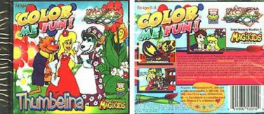 Color Me Fun! Thumbelina (Ages 2-8) CD-ROM for Windows - NEW in SLEEVE