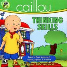 Caillou Thinking Skills CD-ROM for Windows 98/Me/XP/Vista - NEW in SLV