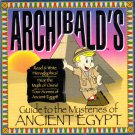 Archibald's: Ancient Egypt (Ages 3+) CD-ROM for Windows - NEW in SLV