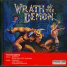Wrath of the Demon PC CD-ROM for DOS - New Sealed JC