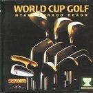 World Cup Golf: Hyatt Dorado Beach (2 CD-ROMs) for DOS - NEW in SLV