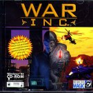 War Inc. PC CD-ROM for Windows 95/98 - NEW in SLEEVE