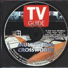 TV Guide Multimedia Crosswords PC-CD for Windows - NEW in SLV