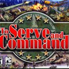 To Serve and Command PC CD-ROM for Windows 98/Me/XP - NEW in SLV