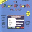 The Grown-Up Games Coll. PC CD-ROM for Windows - NEW in JC