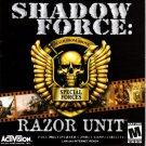 Shadow Force: Razor Unit CD-ROM for Windows - NEW in SLV