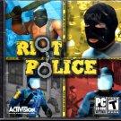 RIOT POLICE PC CD-ROM - NEW in SLV