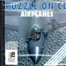 Puzzle On CD - Airplanes PC CD-ROM for Windows - NEW in JC