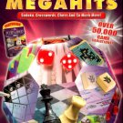 PUZZLE MEGAHITS 4 Game Pack (w/Jewels of Cleopatra) PC-DVD XP/Vista - NEW in BOX