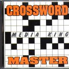 Media King CROSSWORD MASTER CD-ROM for PC - NEW in JC