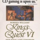 King's Quest VI CD-ROM for Windows/DOS - New  in SLV