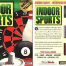 Indoor Sports CD-ROM for Win95/98/Me/XP - New in SLEEVE