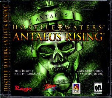 HOSTILE WATERS: ANTAEUS RISING PC CD-ROM for Windows 95/98/2000/Me - NEW JC