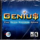 Geniu$ (Genius - The Tech Tycoon Game) PC-CD XP/Vista/7 - NEW in SLV