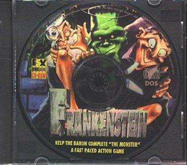 Frankenstein CD-ROM for DOS - NEW in SLV