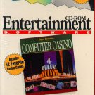 Four Queens Computer Casino CD-ROM for DOS - NEW in SLV