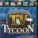 eGames TV Tycoon PC-CD Windows 98-XP - NEW in SLV
