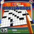 eGames CROSSWORDS CD-ROM for Win98/ME/2K/XP - New in SLEEVE