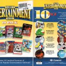 Cosmi Family Entertainment Suite 10 PACK PC-CD for Windows - NEW in SLV