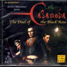 Casanova: The Duel of the Black Rose (2 CDs) for Windows - NEW in SLV