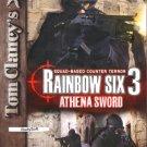 Tom Clancy's Rainbow Six 3: Athena Sword CD-ROM for Mac - NEW in JC