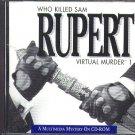 Who Killed Sam Rupert CD-ROM for Win/Mac - NEW in SLEEVE