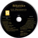 Encyclopedia Britannica Profiles: U.S. Presidents CD-ROM Win/Mac- NEW in SLEEVE