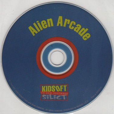 Alien Arcade (Ages 5-9) CD-ROM for Windows - NEW in SLEEVE