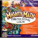 Mighty Math: Calculating Crew (Ages 8-12) CD-ROM for Win/Mac - NEW in JC