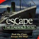 Escape The Emerald Star CD-ROM for Win/Mac - NEW in Small Retail Box