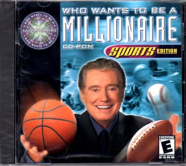 Who Wants To Be A Millionaire: Sports Ed. CD-ROM for Win/Mac - NEW in SLEEVE