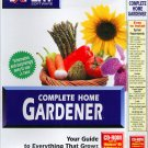 Complete Home Gardener PC CD-ROM for Win/DOS - NEW in SLEEVE