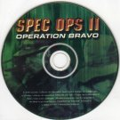 Spec Ops II: Operation Bravo PC-CD for Windows 95/98 - NEW in SLEEVE