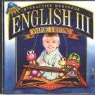 Interactive Workbook English III Reading & Writing (Age 5-8) CD Win/Mac - NEW JC