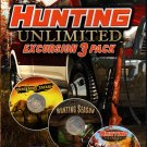 Hunting Unlimited Excursion 3 Pack PC-CD for Windows XP/Vista/7 - NEW DVD BOX