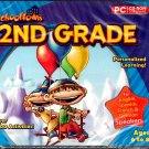 SchoolTown 2nd Grade (Ages 6-8) PC-CD for Windows - NEW in Jewel Case