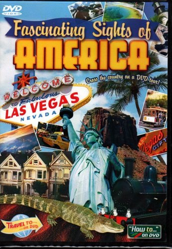 Fascinating Sights of AMERICA DVD-VIDEO - NEW in DVD BOX