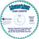 Mighty Math Cosmic Geometry (Ages 12-14) CD Win/Mac - NEW in SLEEVE
