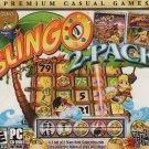 Slingo 2-Pack PC CD-ROM for Windows 2000/XP/Vista/7/8 - NEW in Jewel Case