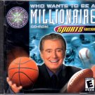 Who Wants To Be A Millionaire: Sports Ed. CD-ROM for Win/Mac - NEW CD in SLEEVE