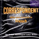 Correspondent - Write and Translate in French CD-ROM for Windows - NEW in JC