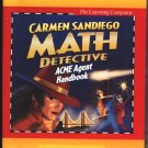 Carmen Sandiego Math Detective (Ages 8-14) CD-ROM Win/Mac - NEW CD in SLEEVE