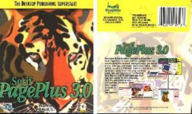 Serif PagePlus 3.0 CD-ROM for Windows 3.1/95/98 - NEW CD in SLV