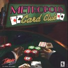 METROPOLIS Card Club PC CD-ROM for Windows 95/98 - NEW CD in SLEEVE