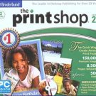 The Print Shop 22 (2 CD-ROMs) for XP/Vista - NEW CDs in SLEEVE