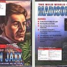The Wild World of Madison Jaxx (Ages 8+) 5 CD's for Win/DOS - New CDs in SLEEVE