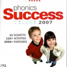 Phonics Success Deluxe 2007 (5CDs) for Windows 2000/XP - NEW CDs in SLEEVE