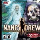 Nancy Drew - 2 Game Pack CD-ROM for Windows XP/Vista - NEW in Jewel Case